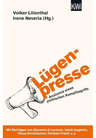 Buch »Lügenpresse / Volker Lilienthal, Irene Neverla« kaufen