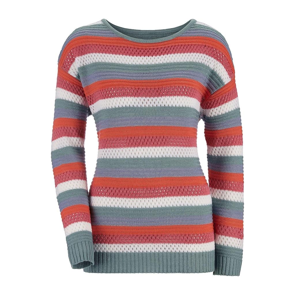 Inspirationen Streifenpullover »Pullover«