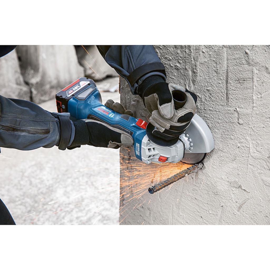 Bosch Professional Akku-Winkelschleifer »GWS 18V-7 Professional«, kompakt und handlich, ohne Akku und Ladegerät