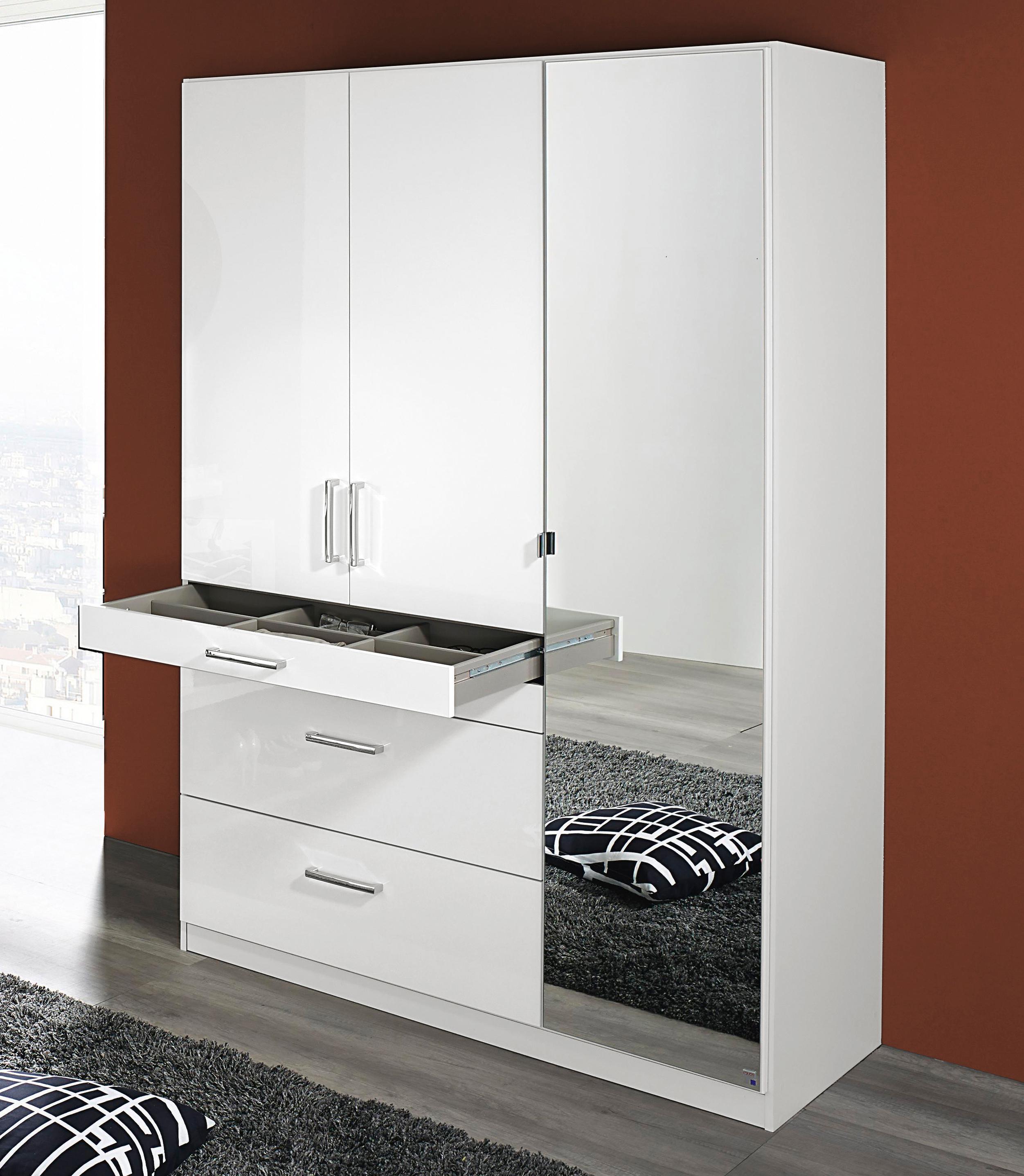 rauch pack s kleiderschrank homburg mit schubk sten. Black Bedroom Furniture Sets. Home Design Ideas