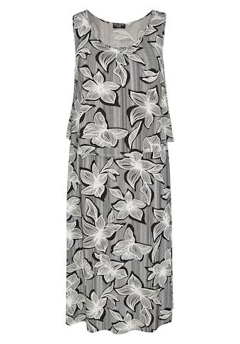 VIA APPIA DUE Modisches Kleid mit Allover - Print kaufen