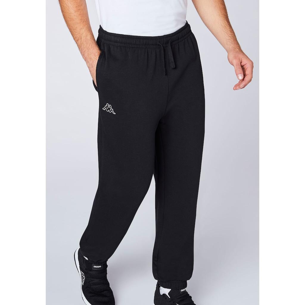Kappa Jogginghose »SNAKO«, in innen angerauter Sweat-Qualität