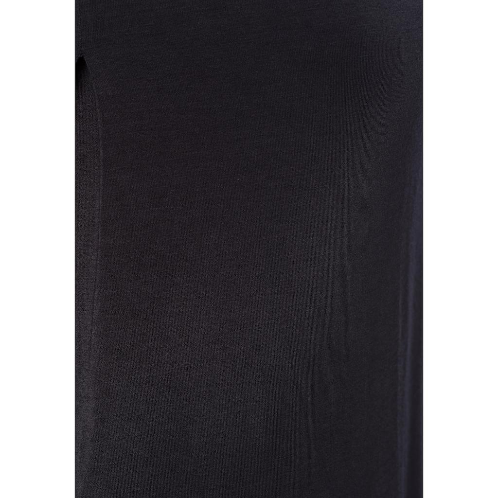 LASCANA Tanktop, (2er-Pack), mit Bändern in Lederoptik