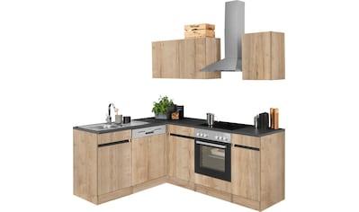 OPTIFIT Winkelküche »Roth«, ohne E - Geräte, Stellbreite 210 x 175 cm kaufen
