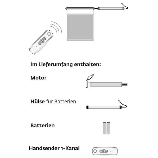 Batterierollo »Premium Style Batterierollo Uni«, sunlines, verdunkelnd, mit Bohren