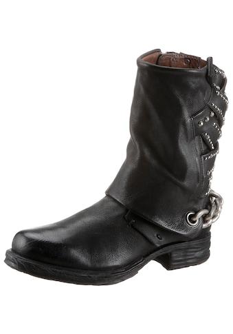 A.S.98 Stiefel »SAINTEC«, mit effektvoller Zierkette kaufen