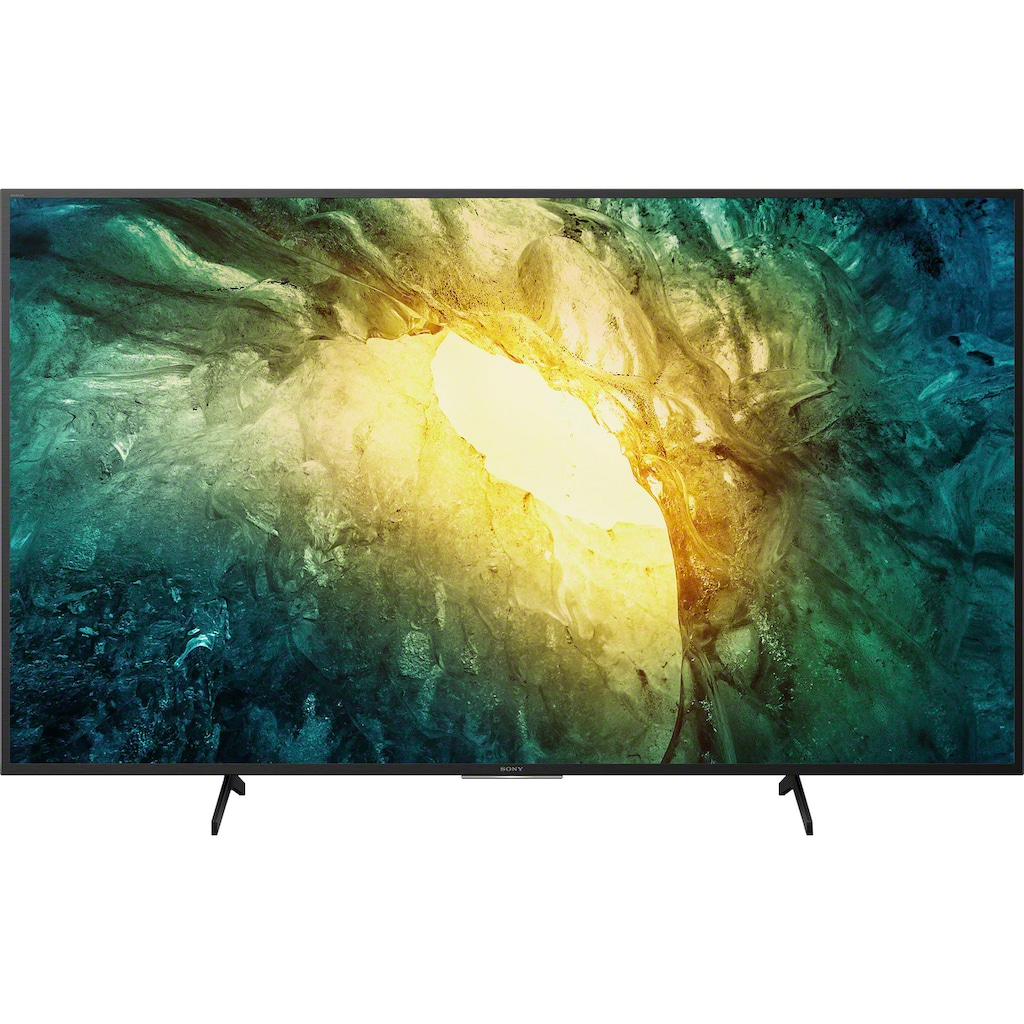 "Sony LED-Fernseher »KD-55X7055«, 139 cm/55 "", 4K Ultra HD, Smart-TV"