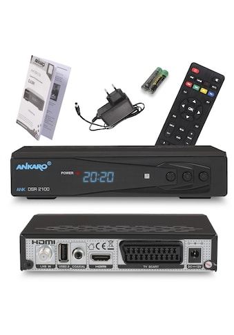 Ankaro SAT-Receiver »ANK DSR 2100 Full HD«, ( ), PVR Ready kaufen