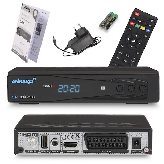 Ankaro »ANK DSR 2100 Full HD« SAT-Receiver