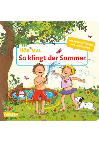 Buch »Hör mal (Soundbuch): So klingt der Sommer / Miriam Cordes, Miriam Cordes« kaufen