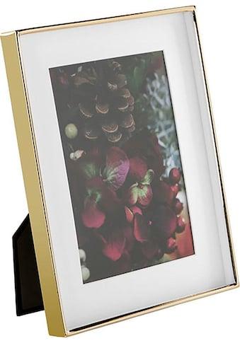 Fink Bilderrahmen »KIM, goldfarben«, (1 St.), Fotorahmen, aus Metall, mit... kaufen