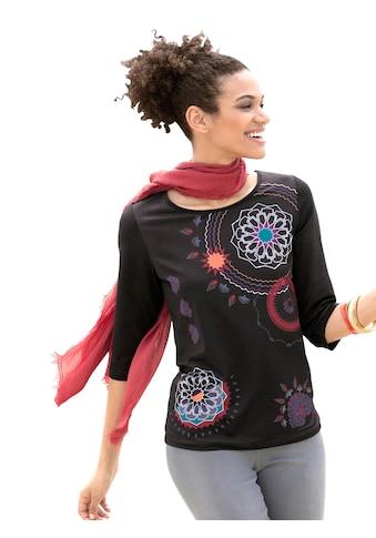 Classic Basics Shirt mit dekorativem Druck kaufen