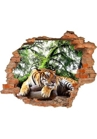 Conni Oberkircher´s Wandsticker »Tiger«, selbstklebend kaufen