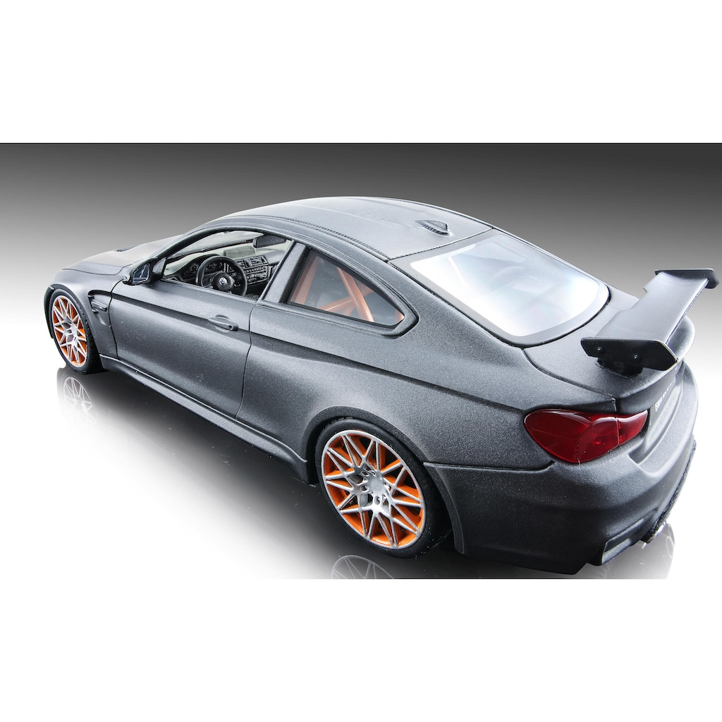 Maisto® Sammlerauto »BMW M4 GTS, 1:24, metallic grau«, 1:24, aus Metallspritzguss