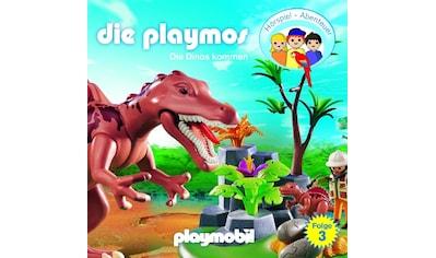 Musik - CD (3)Die Dinos Kommen (Relaunch) / Playmos,Die, (1 CD) kaufen