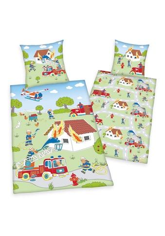 Herding Kinderbettwäsche »Feuerwehr, Baumwoll-Renforcé« kaufen