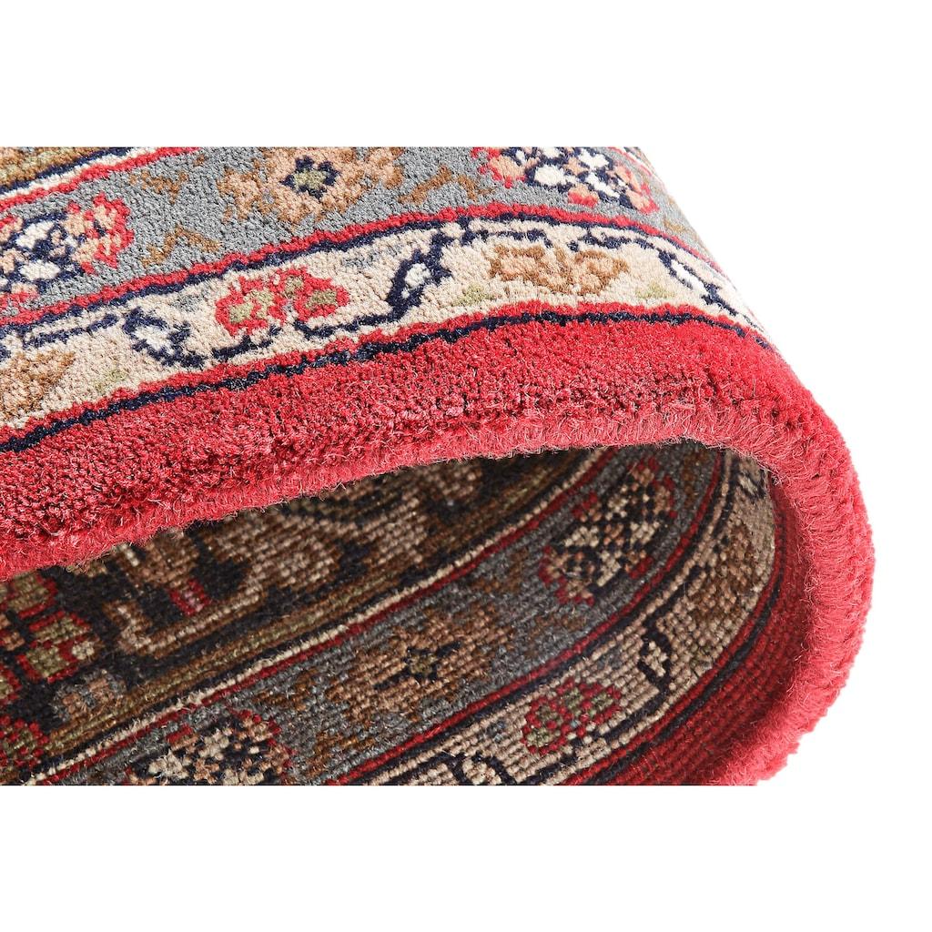 THEKO Orientteppich »Benares Bidjar«, rechteckig, 12 mm Höhe, reine Wolle, handgeknüpft, mit Fransen, Wohnzimmer