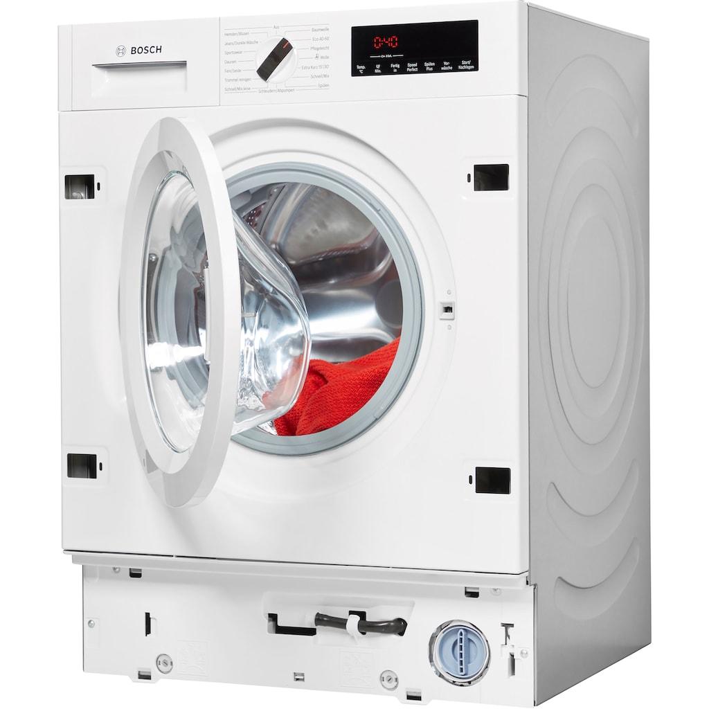 BOSCH Einbauwaschmaschine »WIW28442«, 8, WIW28442, 8 kg, 1400 U/min