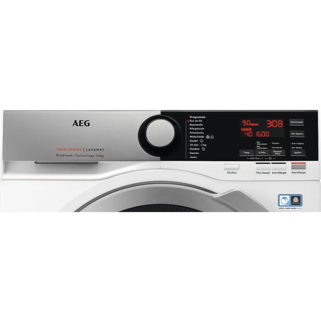 AEG Waschmaschine »LAVAMAT L7FE76695«, LAVAMAT, L7FE76695, ProSteam - Auffrischfunktion