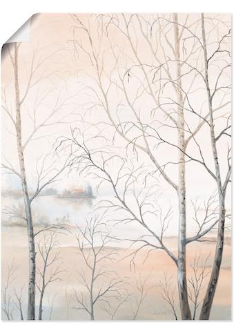 Artland Wandbild »Seeufer am Wald II« kaufen