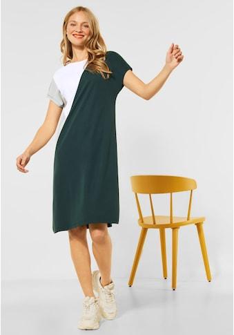 STREET ONE Shirtkleid, im Colourblock-Style kaufen