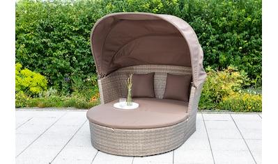 MERXX Loungebett »Neapel«, Relaxinsel, 157x135 cm, inkl. Kissen kaufen