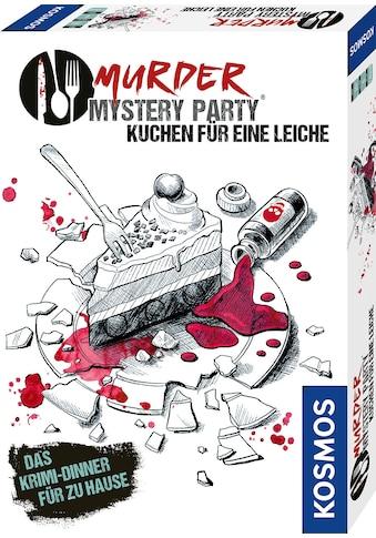 Kosmos Spiel »Murder Mystery Party - Kuchen für eine Leiche«, Made in Europe kaufen
