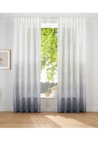 elbgestoeber Vorhang »Elbverlauf«, modern mit Farbverlauf, transparent und pflegeleicht kaufen