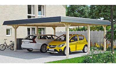 SKANHOLZ Doppelcarport »Wendland«, BxT: 630x637 cm kaufen