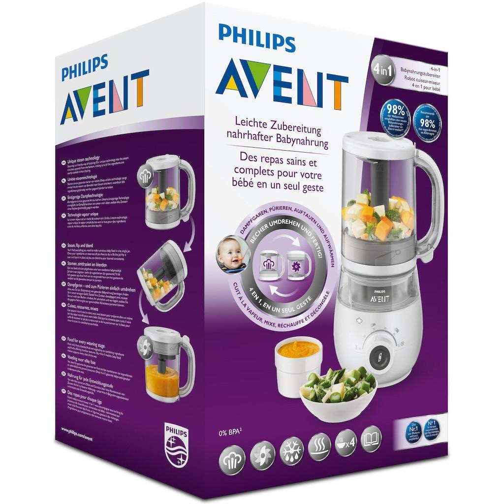 Philips AVENT Babynahrungszubereiter »SCF883/01«, 4-in-1-inkl. Aufbewahrungsbox, Heber und Rezeptheft