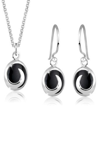 Elli Schmuckset »Onyx 925 Sterling Silber« kaufen