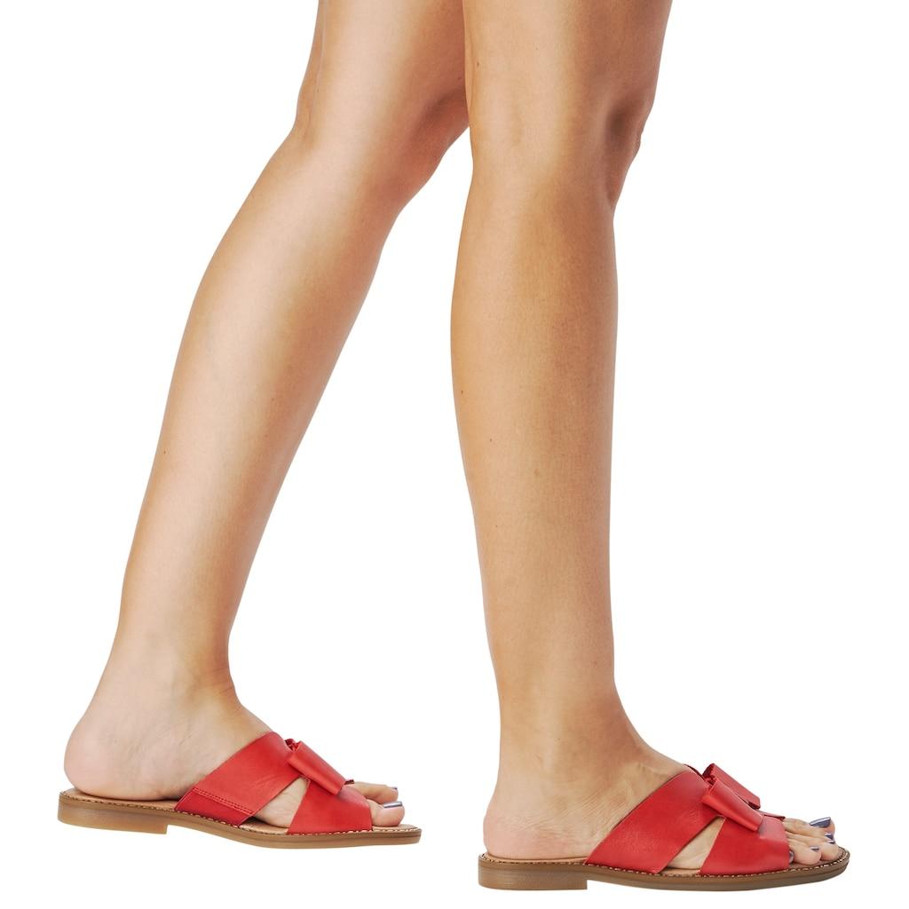 Remonte Pantolette, mit modischer Schleife
