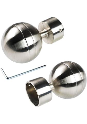 Liedeco Gardinenstangen-Endstück »Kugel«, für Gardinenstange Ø 28 mm kaufen