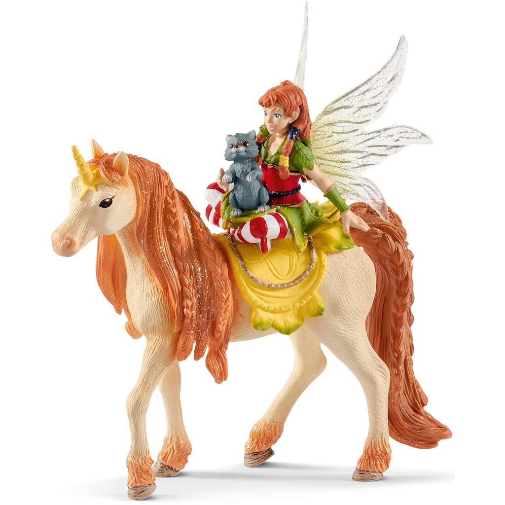 Schleich® Spielfigur »bayala, Marween mit Glitzer-Einhorn (70567)«
