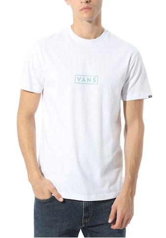 Vans T-Shirt »MN VANS EASY BOX SS« kaufen