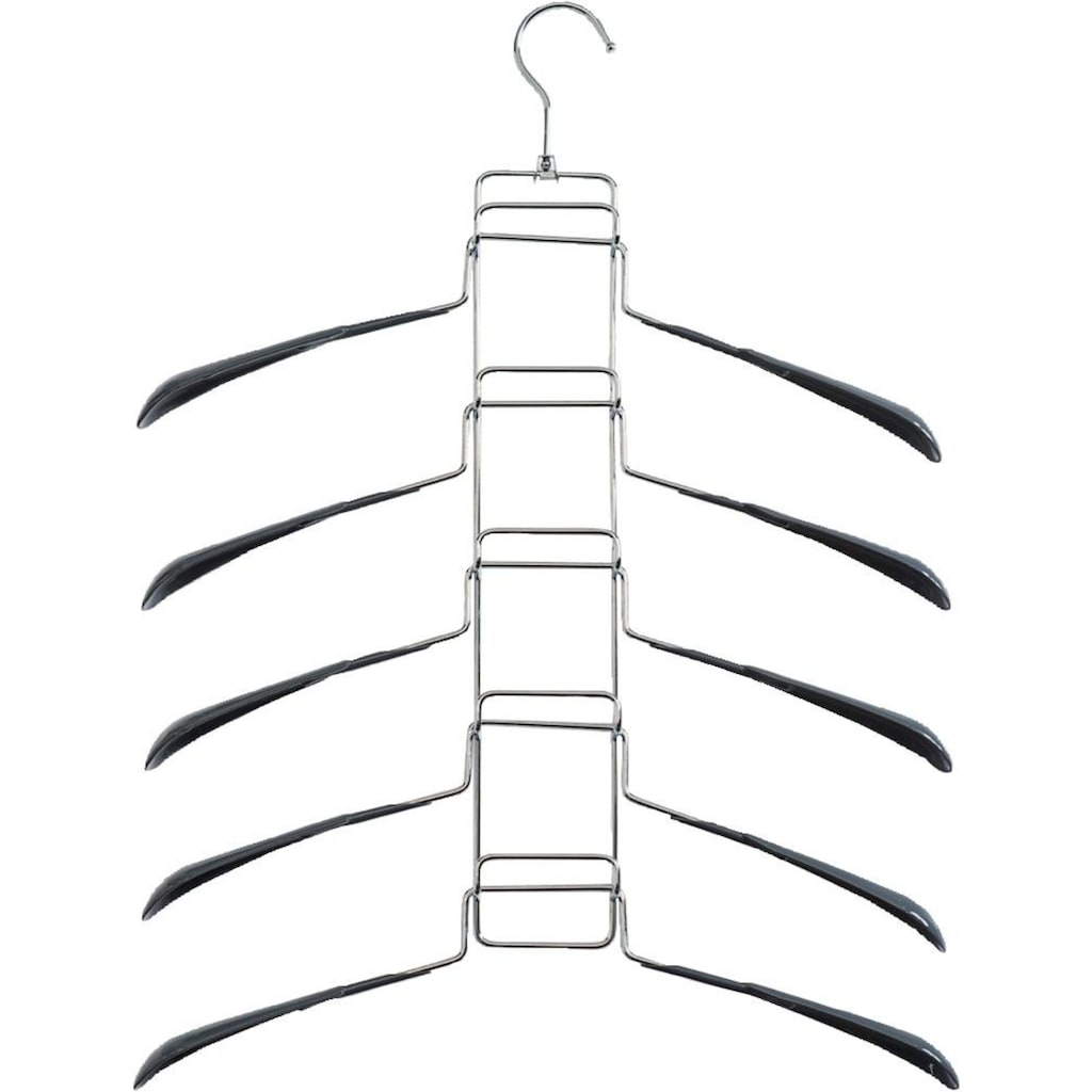 Zeller Present Kleiderbügel, Metall/Kunststoff