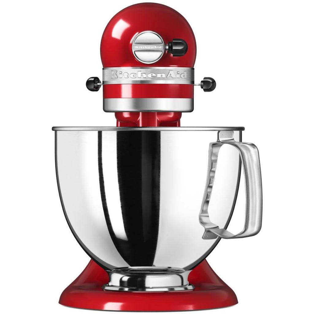 KitchenAid Küchenmaschine »Artisan 5KSM125EER«, 300 W, 4,8 l Schüssel, Farbe: Empire Rot