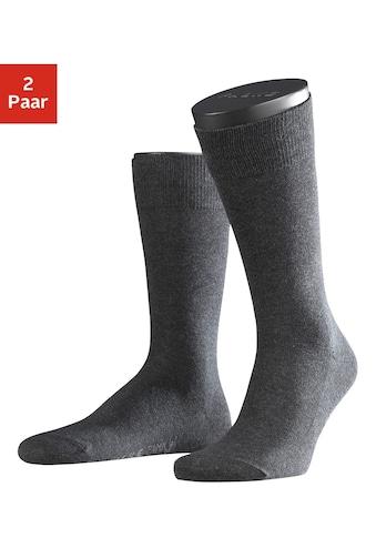 FALKE Socken »Family«, (2 Paar), mit extrahohem Baumwollanteil kaufen