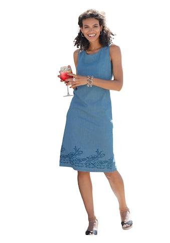 Classic Basics Kleid mit floraler Stickerei kaufen