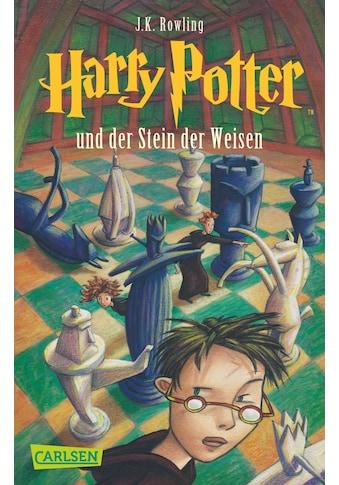 Buch Harry Potter und der Stein der Weisen (Harry Potter 1) / J.K. Rowling; Klaus Fritz kaufen