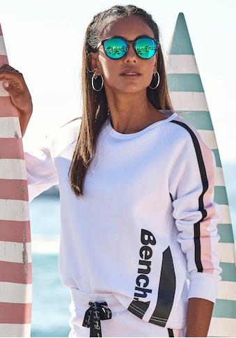 Bench. Sweater, kurze Form mit Kontraststreifen kaufen