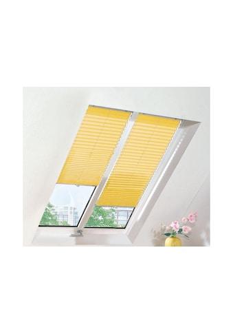 sunlines Dachfensterplissee nach Maß, verdunkelnd, mit Bohren, verspannt kaufen