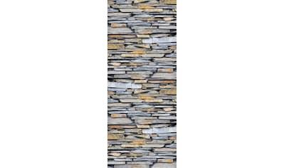 queence Vinyltapete »Fatjon«, Steinoptik, 90 x 250 cm, selbstklebend kaufen