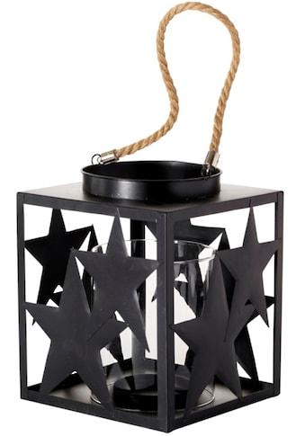Windlicht »Stella«, mit Glaseinsatz, Höhe 23 cm kaufen