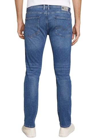 TOM TAILOR Denim 5-Pocket-Jeans, mit Leder-Badge kaufen
