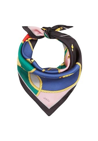 Codello Seidentuch, aus reiner Seide mit klassischen Foulard-Print kaufen