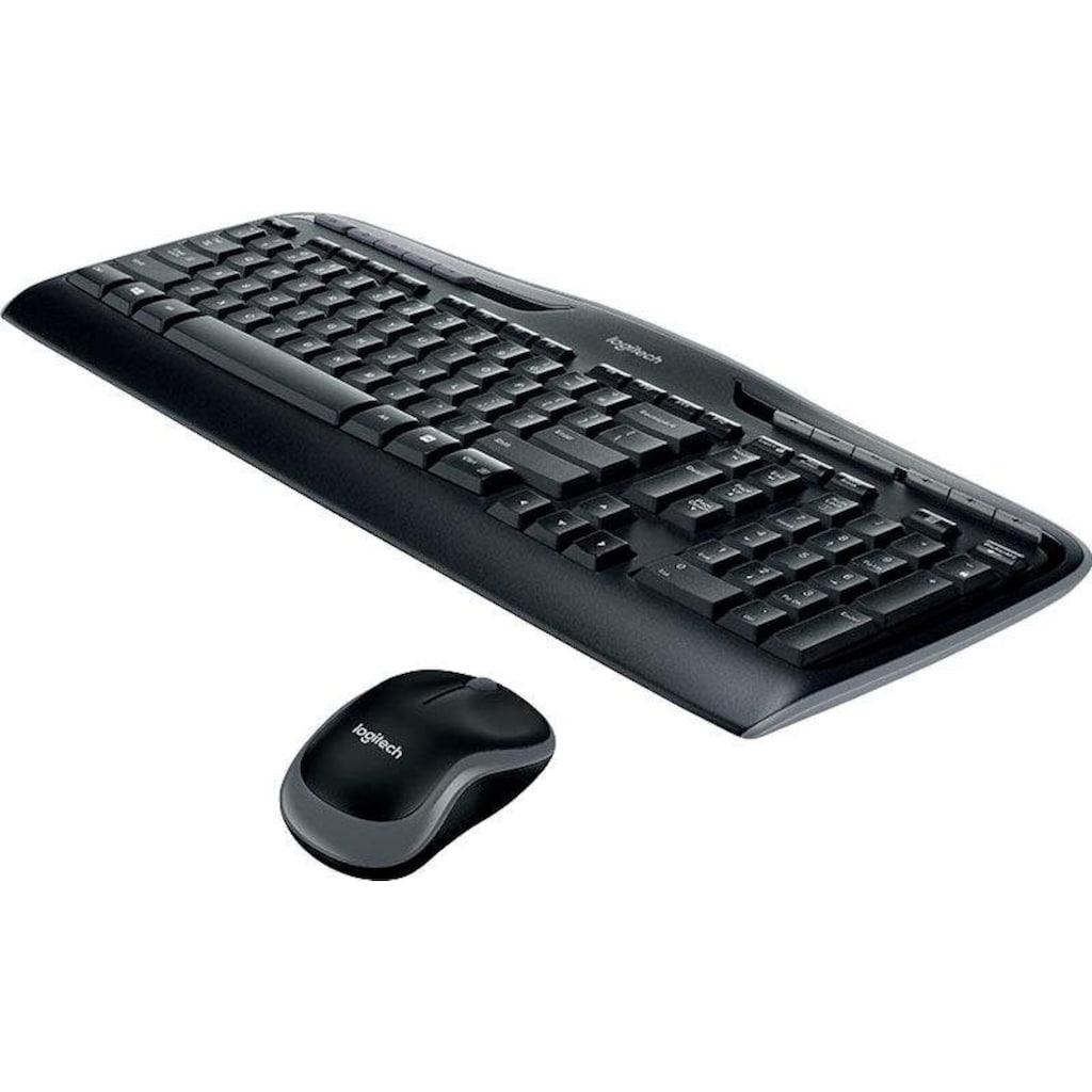 Logitech Tastatur- und Maus-Set »Wireless Combo MK330«