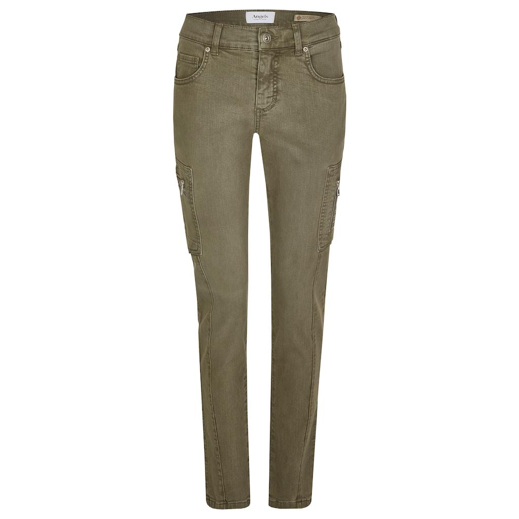 ANGELS Skinny-fit-Jeans, mit Glitzersteinen