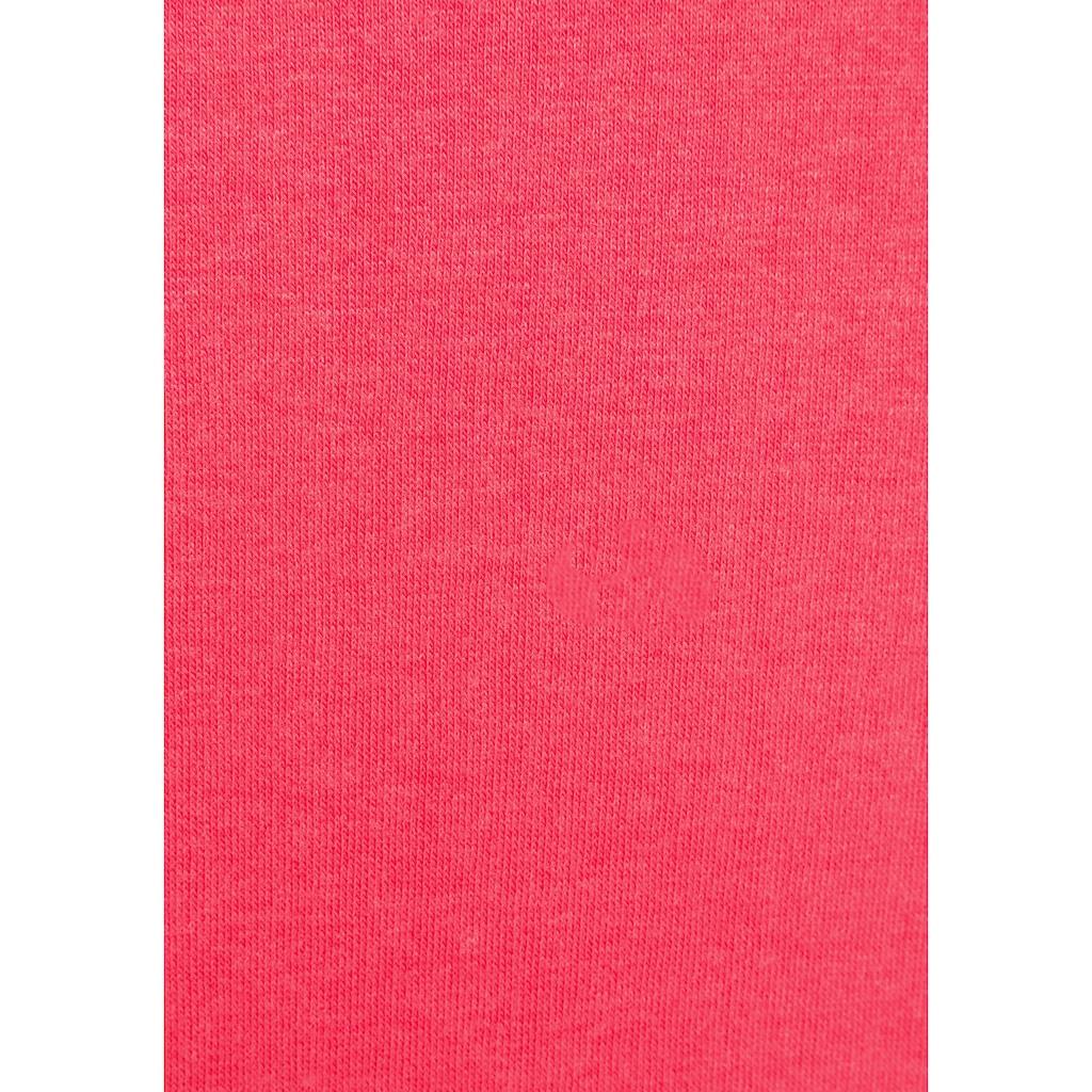 KangaROOS Kapuzensweatjacke, mit hohem Kapuzensteg
