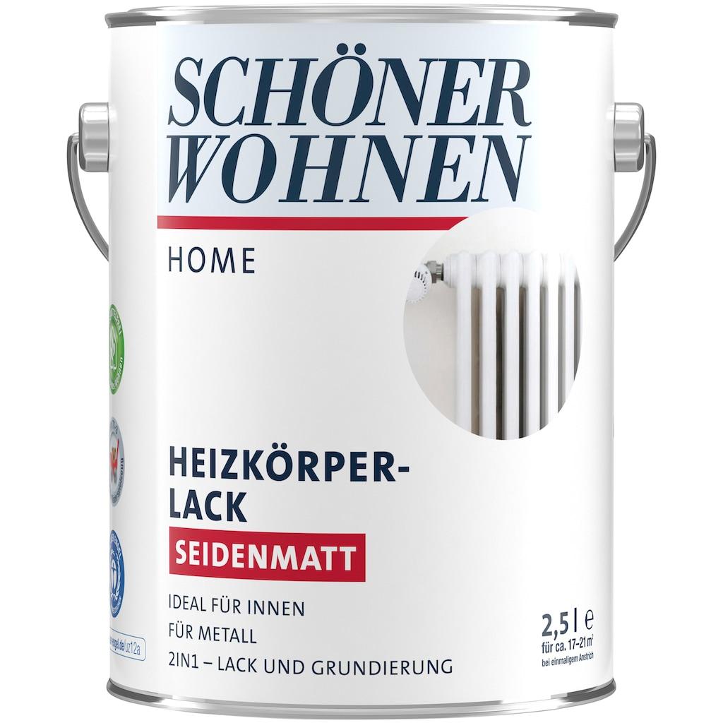 SCHÖNER WOHNEN-Kollektion Lack »Home Heizkörperlack«, seidenmatt, 2,5 l